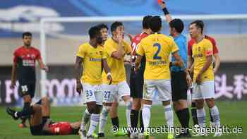 Liga der Pleitegeier: Chinas Fußball liegt sportlich und ökonomisch brach