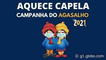 Capela do Alto lança campanha do agasalho neste sábado - G1