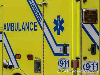 Driver dies when his concrete-mixer truck overturns in Candiac - Montreal Gazette