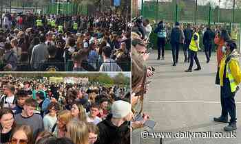 Hundreds of people break lockdown rules to attend surprise gig by rapper AJ Tracey in Manchester