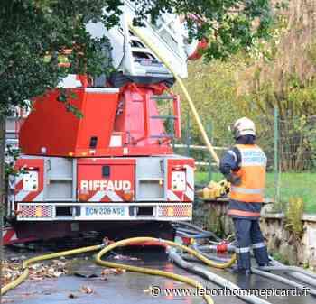 Liancourt : incendie dans un bâtiment d'habitation - lebonhommepicard.fr