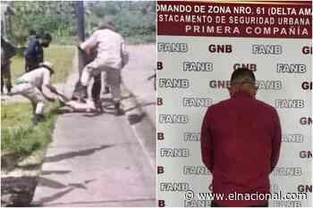 Detuvieron a presunto funcionario de seguridad por asesinar a un perro en Tucupita - El Nacional