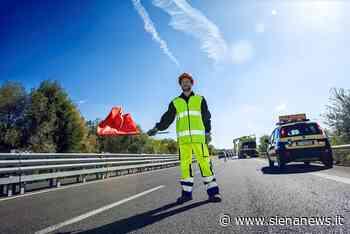 Scontro tra due auto sulla Siena-Firenze: una si ribalta, conducenti feriti. Chiuso lo svincolo a Badesse - Siena News