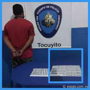 Apresado sujeto con 205 envoltorios de presunto crack en Tocuyito - Diario El Siglo