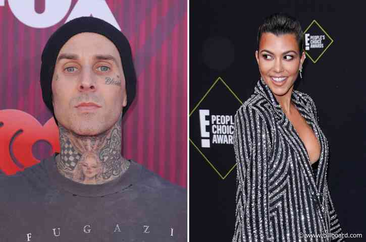 Travis Barker Shares Sweet & Racy Photos on Kourtney Kardashian's Birthday: 'You're a Blessing'