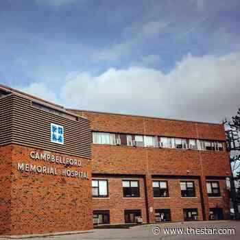Campbellford Memorial Hospital further restricting visiting during COVID-19 lockdown - Toronto Star
