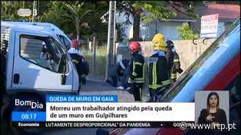Vila Nova de Gaia. Homem morre em queda de muro 17 Abril 2021, 08:28 - RTP
