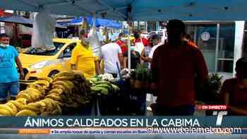 Vendedores informales en La Cabima rechazan instalación de nuevo puesto de ventas - Telemetro