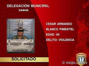 Detenido sujeto por delito de violencia en Cagua Aragua - Diario El Siglo