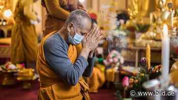 Oase der Ruhe und Erleuchtung: BILD im Buddha-Tempel von Ludwigshafen - BILD