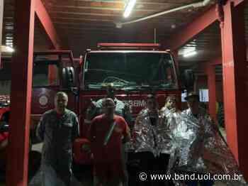 Jovens são resgatados após ficarem perdidos em represa de Natividade da Serra - uol.com.br
