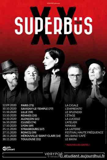 SUPERBUS - BIG BAND CAFE - BBC, Herouville Saint Clair, 14200 - Sortir à France - Le Parisien Etudiant