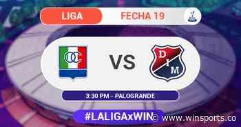 En vivo Once Caldas vs Medellín - Liga BetPlay - Win Sports