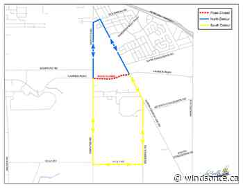 Laurier Parkway In LaSalle To Close For Construction - windsoriteDOTca News