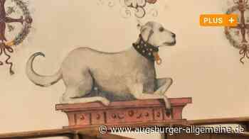 Kirchenmalerei in Filzingen: Die Sage vom treuen Hund des Barons - Augsburger Allgemeine