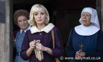 CHRISTOPHER STEVENS: Heavens above! Is that a flash of a nun's knee on Call The Midwife?