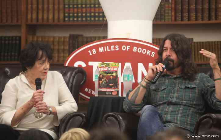 Watch a teaser clip for Dave Grohl and his mum Virginia's new series 'From Cradle to Stage'