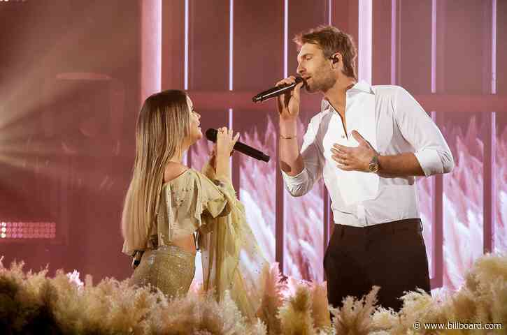 Maren Morris & Ryan Hurd Croon 'Chasing After You' at 2021 ACM Awards