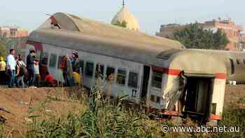 'We found ourselves on top of each other': Egypt says 11 killed in train crash, nearly 100 injured