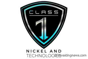 Class 1 Nickel Signs Memorandum of Understanding With Matachewan First Nation for Alexo-Dundonald Nickel Sulphide Project - Investing News Network