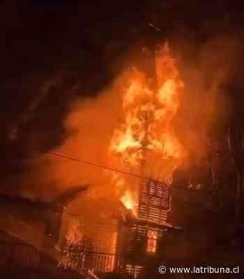 En La Araucanía: Incendió destruyó capilla ubicada en sector Roble Huacho - Diario La Tribuna