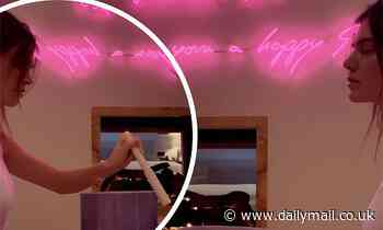 Kendall Jenner conducts relaxing sound bath with crystal singing bowls for followers on Instagram