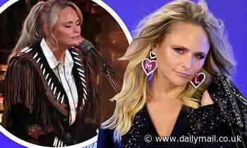 Miranda Lambert steps in as a last-minute replacement for Chris Stapleton's wife Morgane