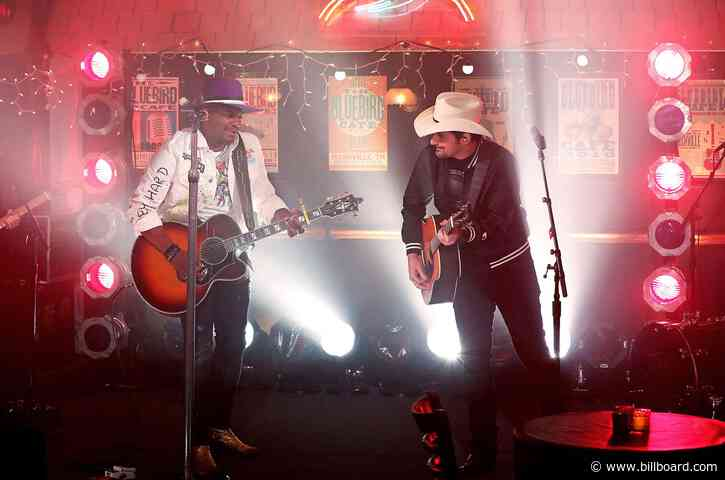 Brad Paisley Surprises Jimmie Allen for Special 'Freedom Was A Highway' Duet at the 2021 ACM Awards