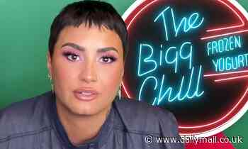 Demi Lovato upset with LA frozen yogurt shop The Bigg Chill for excess of diet-geared inventory