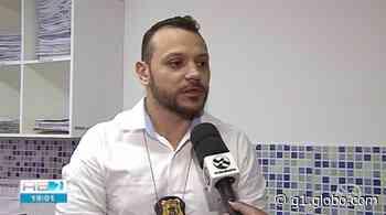 Policiais civis de Caruaru e Santa Cruz do Capibaribe prestam homenagem ao delegado Anderson Liberato - G1