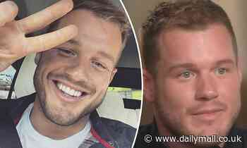 Colton Underwood flashes a peace sign in a selfie posted to his Instagram account...after coming out