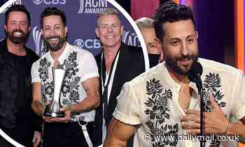 Old Dominion wins group of the year for fourth year in a rowat the ACM Awards in Nashville