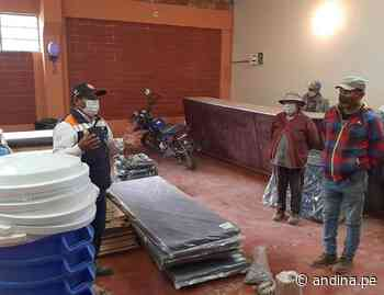 Áncash: Inician atenciones en distrito de Pampas Grande tras ocurrencia de temporales - Agencia Andina