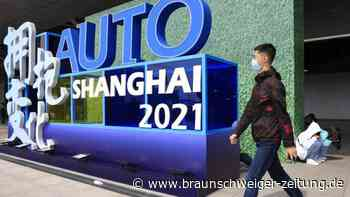 Automesse in Shanghai: Deutsche Autobauer holen bei E-Autos auf