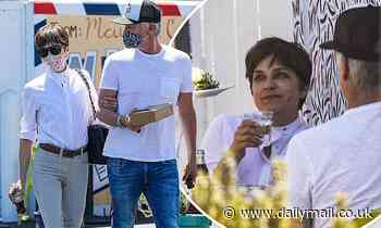 Selma Blair and boyfriend Ron Carlson have the look of love during lunch date in West Hollywood