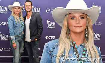 Miranda Lambert goes full-on cowgirl in triple denim and Stetson with  Brendan McLoughlin at ACMs