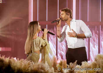 Ryan Hurd and Maren Morris Perform 'Chasing After You' at the ACM Awards