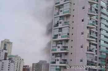Incêndio atinge apartamento de prédio no Campo Belo, na Zona Sul - VEJA SÃO PAULO