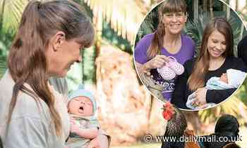 Bindi Irwin's mother Terri introduces baby Grace  to the animals at Australia Zoo