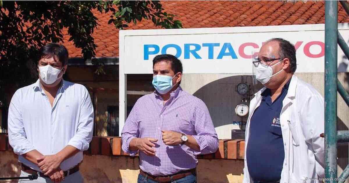 Amplían sistema de oxígeno en el hospital de Quiindy - La Nación