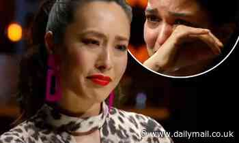 The 'gut-wrenching' moment a MasterChef contestant breaks down in tears and says he can't cook