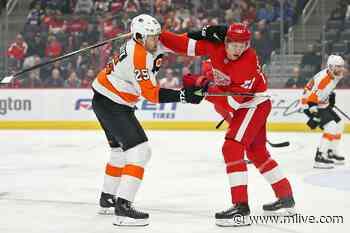 Detroit's Dennis Cholowski and Mathias Brome reassigned to Grand Rapids - MLive.com