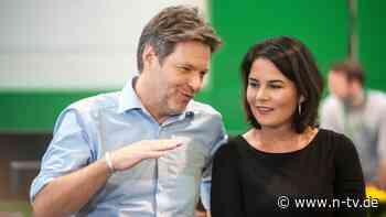 Baerbock versus Habeck: Wer will für die Grünen ins Kanzleramt?