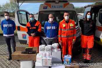 L'Avis Castelnuovo Magra dona materiale sanitario a Protezione Civile e Pubblica Assistenza - Gazzetta della Spezia e Provincia