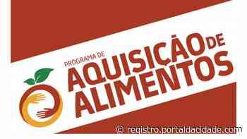 Agronegócio Prefeitura de Iguape abre inscrições para o Programa de Aquisição de Alimentos 14/04/2021 - Adilson Cabral