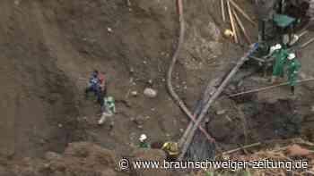 Rettungskräfte in Kolumbien bergen elf Leichen aus illegaler Goldmine