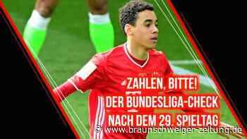 Zahlen, bitte! Der Bundesliga-Check nach dem 29. Spieltag