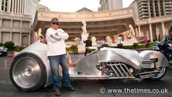 Star Trek actor William Shatner on his epic motorbike ride across America - The Times