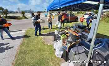 Juntaron en Punta Mogotes una tonelada de desechos tecnológicos para reciclar - 0223 Diario digital de Mar del Plata