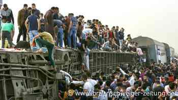 Viele Tote und Verletzte bei Zugunglück in Ägypten